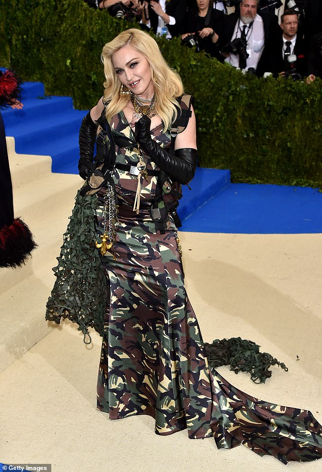 "Trailblazer: Madonna see at the Rei Kawakubo/Comme des Garcons: Art Of The In-Betwee"" Costume Institute Gala at Metropolitan Museum of Art in 2017"