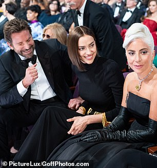 A source at the party told DailyMail.com that Gaga, who won an Oscar for Best Song, made a 'beeline' for Cooper as soon as she arrived
