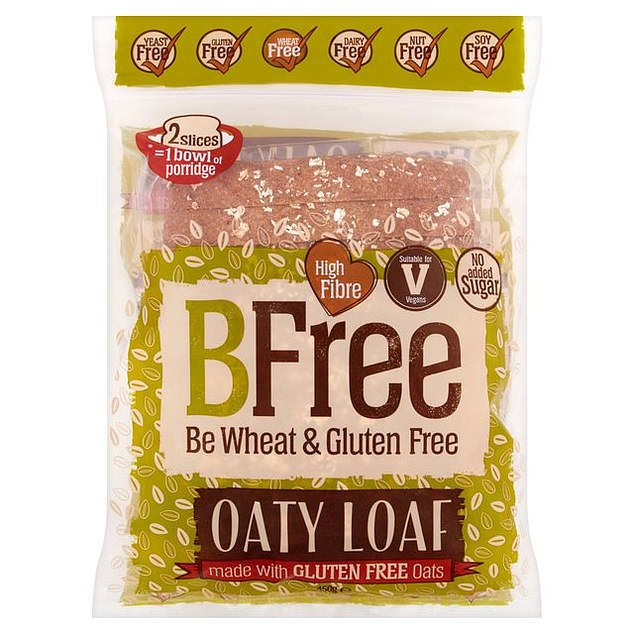 BFree:Free from gluten, dairy, egg, soy, nuts and yeast. Made with potato flour and sourdough