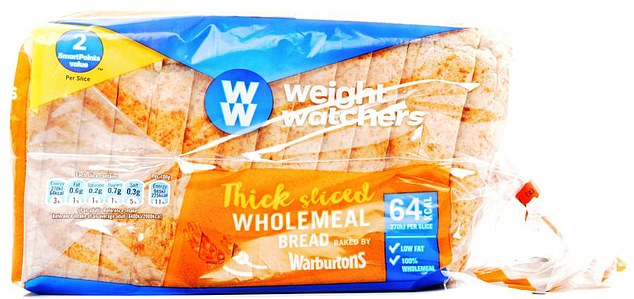 Fact: This has no added sugar, but, because the slices are smaller than in standard loaves, a two-slice portion will supply only a tenth of your daily fibre needs