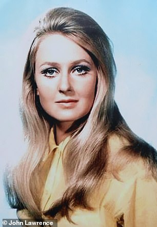 Anna pictured in an episode of The Saint from 1969