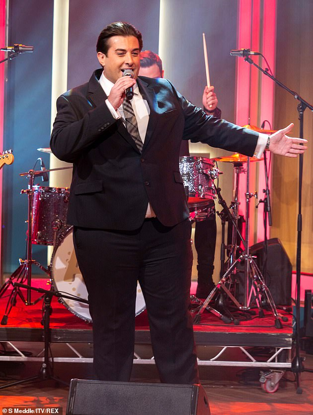 Going all out:Just last week, Arg pulled out all the stops for Valentine's Day, revealing Gemma had demanded their stay in a suite at The Dorchester Hotel, he also serenaded her