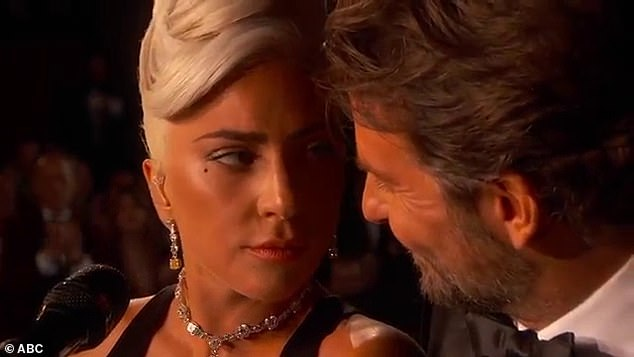Speaking out: Lady Gaga has broken her silence about the steamy duet she performed with Bradley Cooper at Sunday's Oscars, calling the actor  'a true friend'