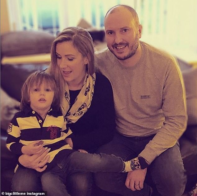 Rachael Bland, co-presenter of award-winning podcast You, Me and The Big C, which documented her battle with breast cancer, left behind husband Steve, 38, and their three-year-old son Freddie, pictured
