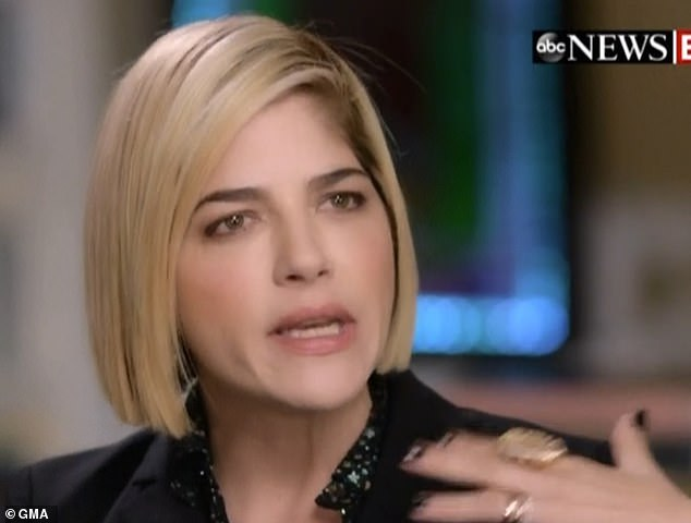 Pain: Actress Selma Blair has spoken out her multiple sclerosis in a candid new interview, revealing that she felt some 'relief' after being diagnosed with the chronic disease
