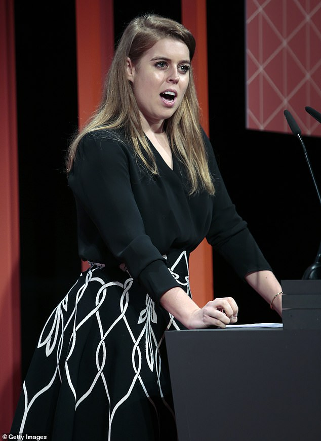 Princess Beatrice delivered an impassioned speech at the Women4Tech keynote and diversity during 4YFN Connecting Startups as part of GSMA Mobile World Congress