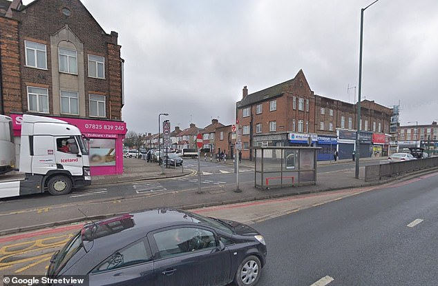The junction between the North Circular Road and Chartley Avenue in Brent, north London, ranked second worst, with 115.39ug/m3 of nitrogen dioxide in the air on average