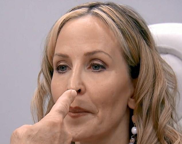 Another issue: During her consultation, Dr. Paul Nassif points out that she also has a bossa, a sharp piece of cartilage in the tip of her nose