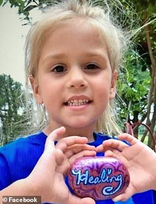 DIPG is a very rare and highly aggressive form of cancer with tumors in the brain. Pictured: Layla