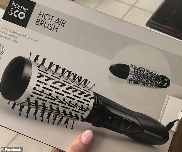 This $19 hot hair brush is being hailed a godsend by those who say its the ideal styling tool for creating frizz-free salon-worthy locks