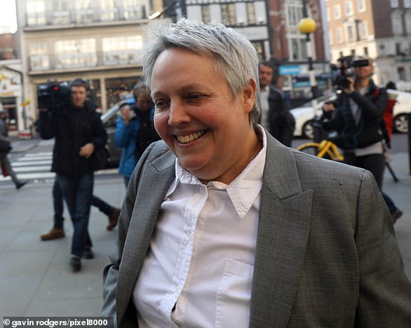 "The lawyer for women's rights Harriet Wistrich, pictured, who represents Challen to the Court of Appeal, said that the case was all but certain, but that the new law is ""like new"" test"""