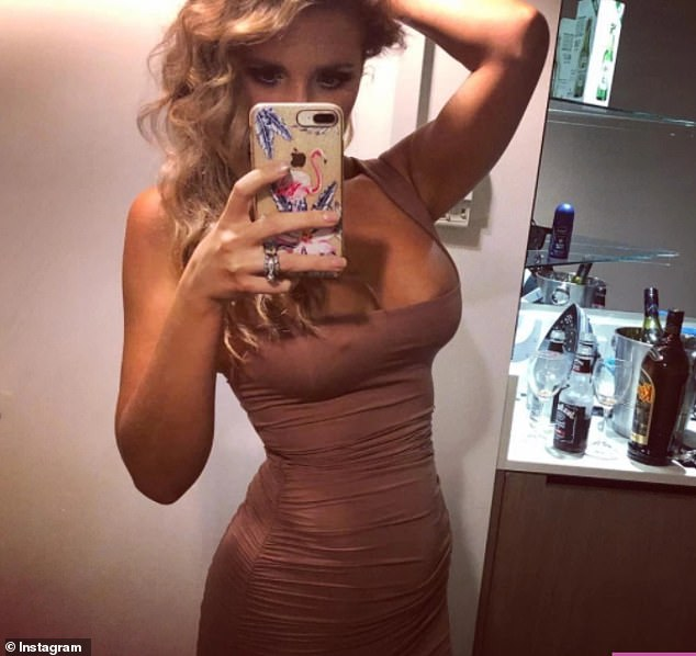 Alex Symons is now69kg (10st 8lbs) and loves to share pictures in tight dresses and bikinis