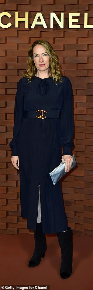 Last week, she was back on the catwalk modelling at the age of 52 for Etro in Milan