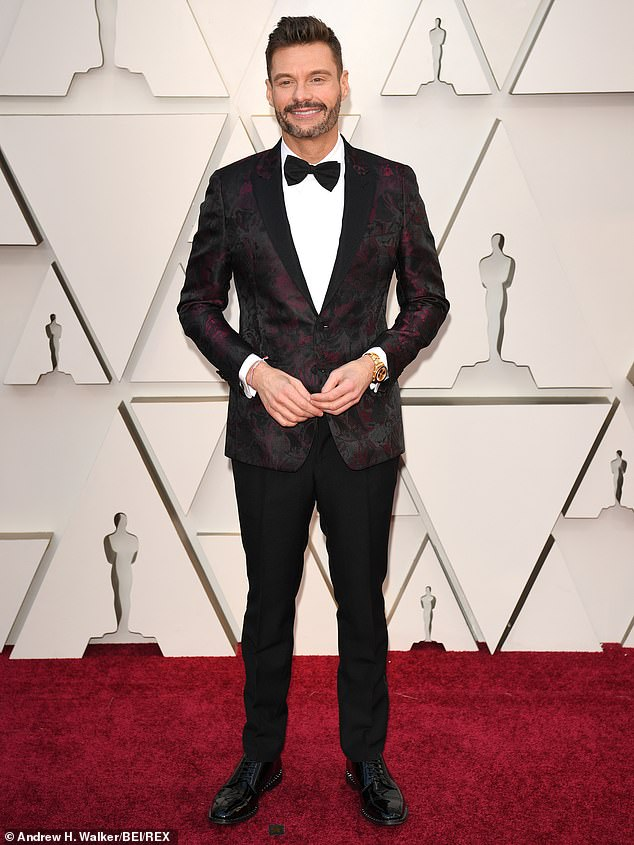 Oscar man:On Sunday he was on the red carpet for E! and ABC at the Academy Awards