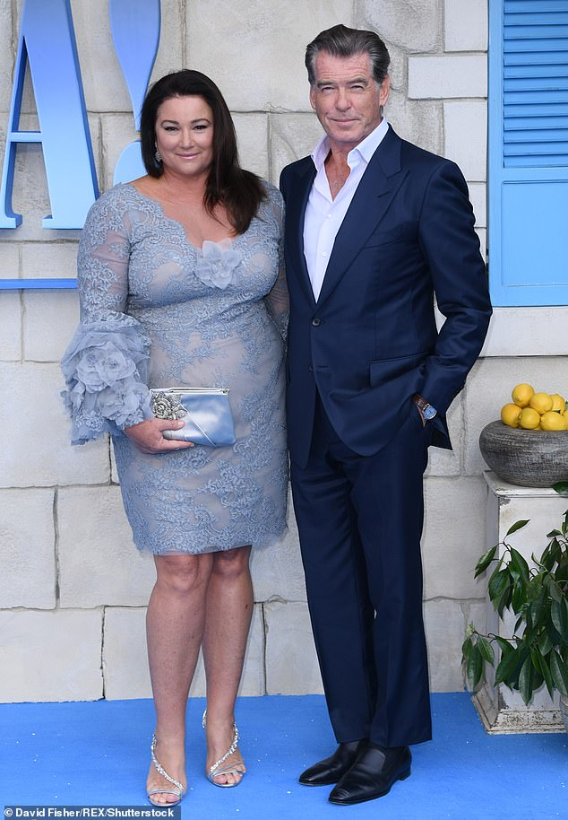 The silver fox and Keely have been together since 1994 and tied the knot at Ballintubber Abbey in County Mayo, Ireland, in 2001