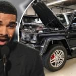 Drake Splurges 600k On Ultra Rare Mercedes Maybach G 650 Landaulet All Terrain Vehicle Daily Mail Online