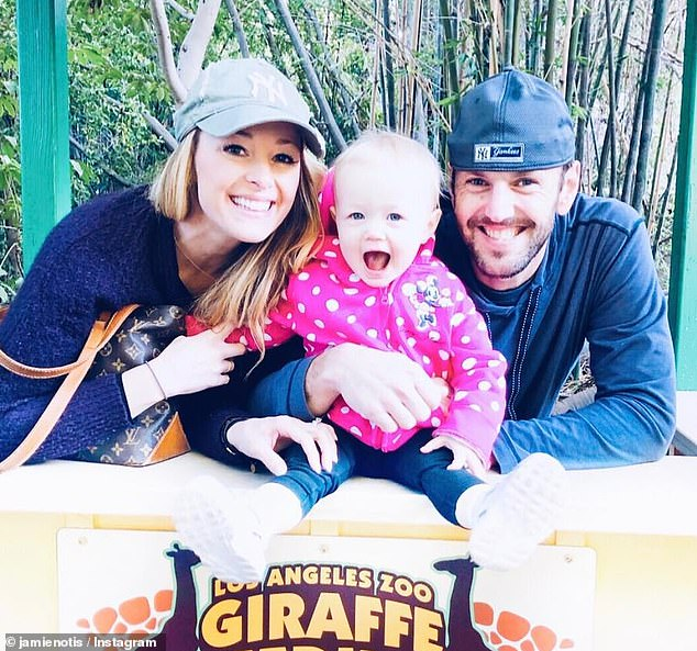Reassurance: Doug, who has a daughter, Henley, with Jamie, assured her that she wasn't a 'd**k' during their season of the show