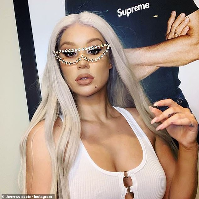 'Just because of how the last few years have been not the best for me, we all know': Iggy (pictured) has been candid about her struggles for chart success following The New Classic