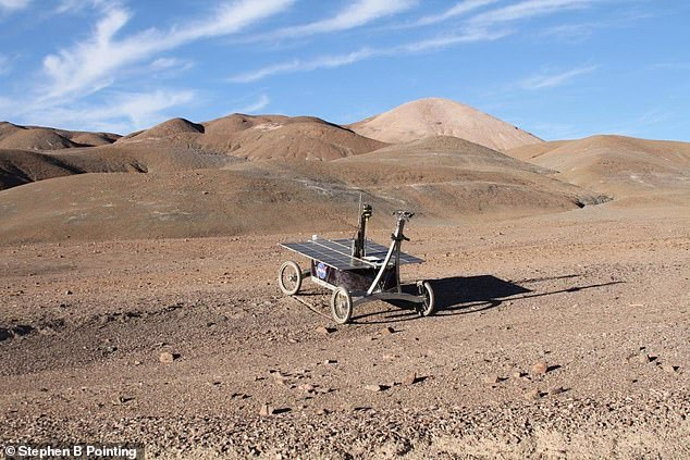 A NASA rover equipped with a drill has collected micro organisms from three feet under the ground in Chile's Atacama desert. It is hoped that the experiment will give scientists a clearer picture of what kind of bacteria they might expect to get from the arid soil on Mars