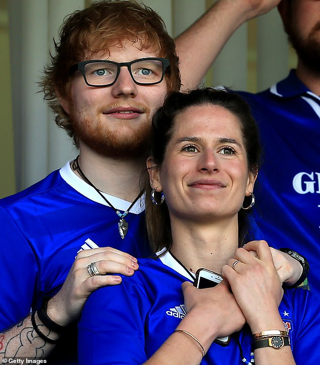 Pop star Ed Sheeran, 28, and Cherry Seaborn, 26, who were once school mates back in their hometown of Framlingham, Suffolk, are said to have wed in a secret ceremony with just 40 guests after becoming engaged in December 2017