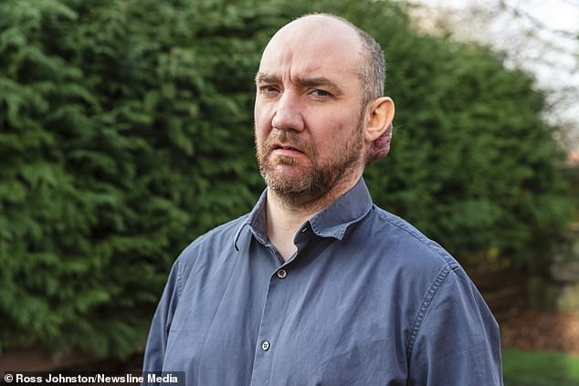 Mr Wright is still waiting for an appointment to have the growth removed even though he received a letter of apology in September saying that he would be offered a date for surgery as soon as possible