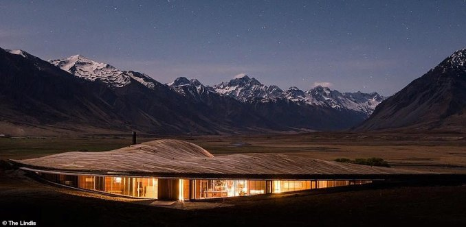 Rooms at the recently-opened five-room hotel start from £1,028 (NZD$2,000), with the rate including meals rustled up with ingredients foraged in the local area