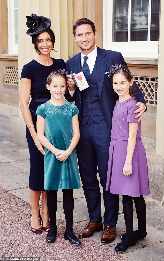 Family:Frank has two daughters, Luna, 13, and Isla, 11, with his former fiancée, Spanish model Elen Rivas, 43