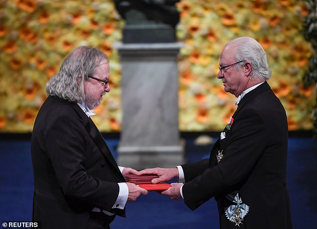 Allison, in recognition of his world-changing contributions to immunotherapy, receives the Nobel Prize for Physiology or Medicine on December 10, 2018 from King Carl Gustaf of Sweden during the award ceremony in Stockholm