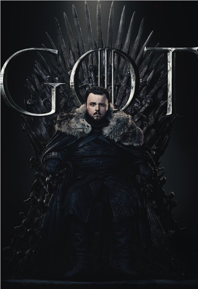 Unlikely hero: No doubt fans will be excited to see how Samwell Tarly fares in the battle against the army of the dead
