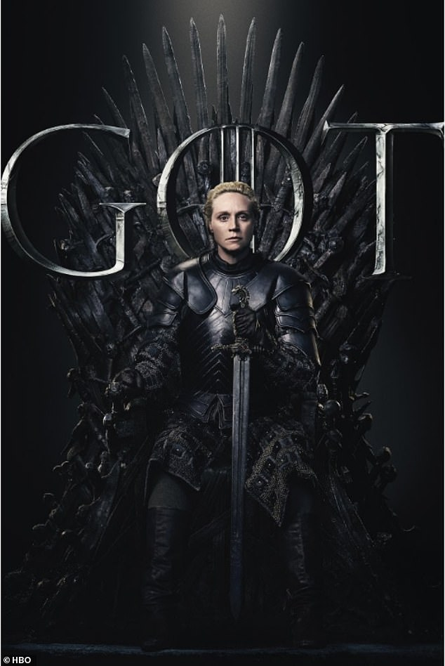 Choose: Dedicated fans were asked to pledge their allegiance to the long-running character they want to rule over the seven kingdoms in the end (Brienne Of Tarth)
