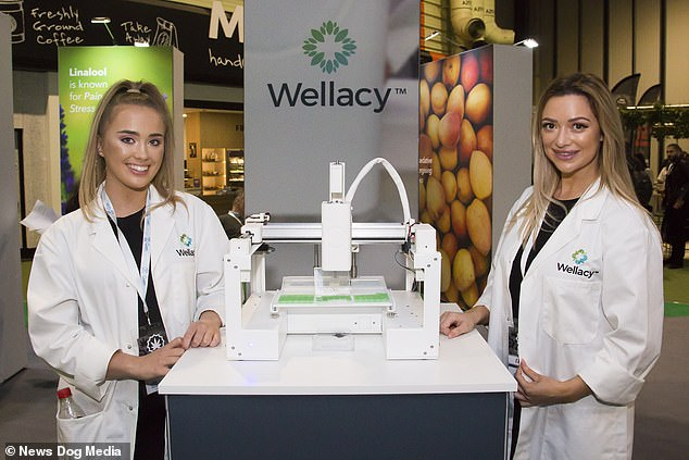 This machine 3-D prints CBD 'jellies' which backers of the legalisation say help with a range of conditions from anxiety to epilepsy
