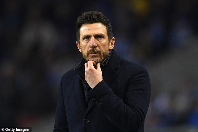 Pressure was on Di Francesco before the Porto defeat and now he faces an uphill battle to stay