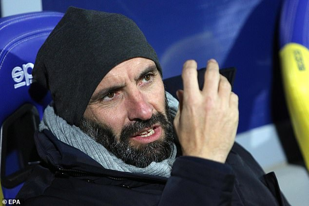 Roma's technical director Monchi faces an uncertain future having been linked with Arsenal