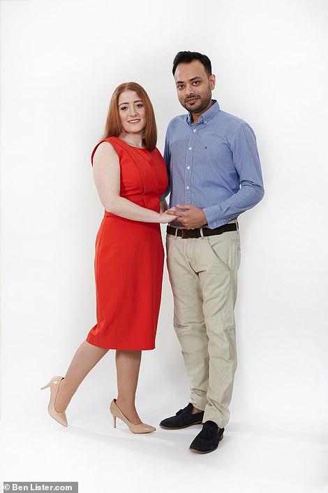 Spanish teacher Vanesa Domene Macia, 37, lives with her partner, cook Samiul Ali, 34