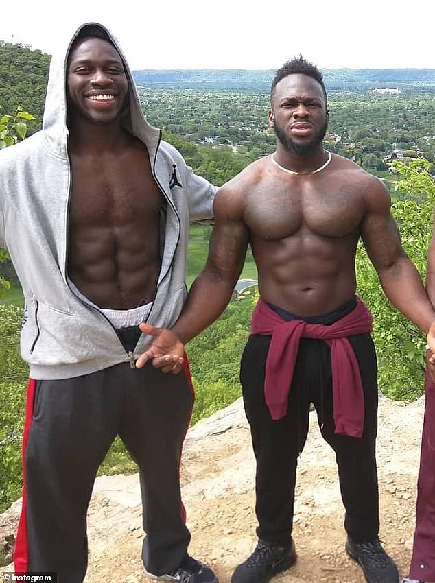 Police say they have overwhelming evidence Smollett paid two Nigerian brothers,Abel (left) and Ola (right) Osundairo, to attack him on January 29 in a staged hate crime because he wanted a higher salary
