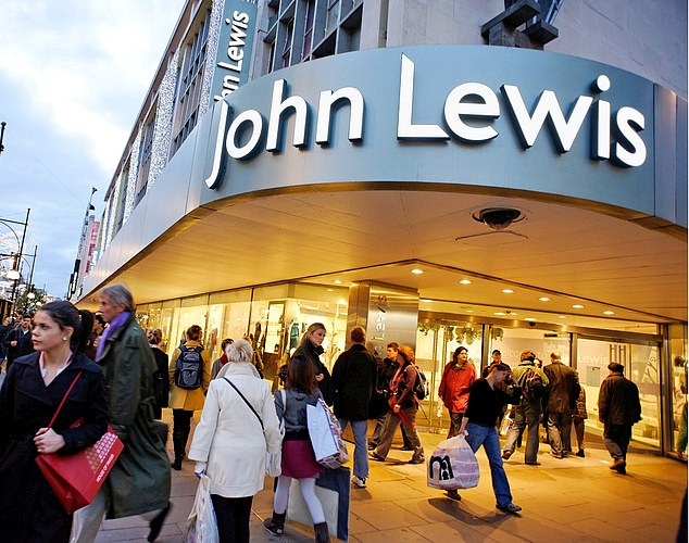Cuts: Bosses at the John Lewis Partnership cut bonuses to the lowest since 1953