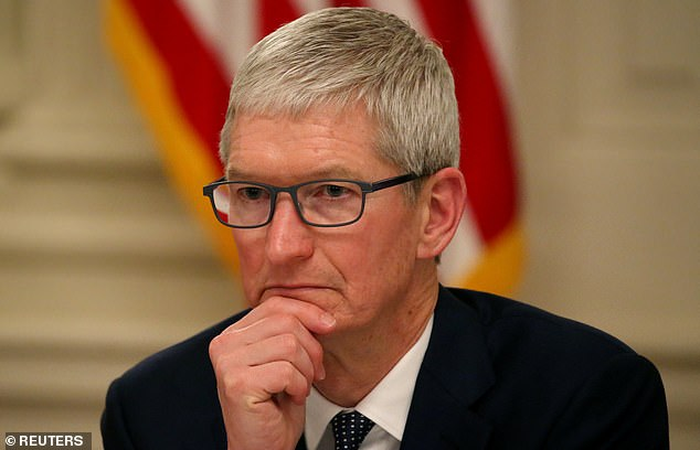 Apple boss has defended the company's use of encryption, saying that it 'keeps the public safe'