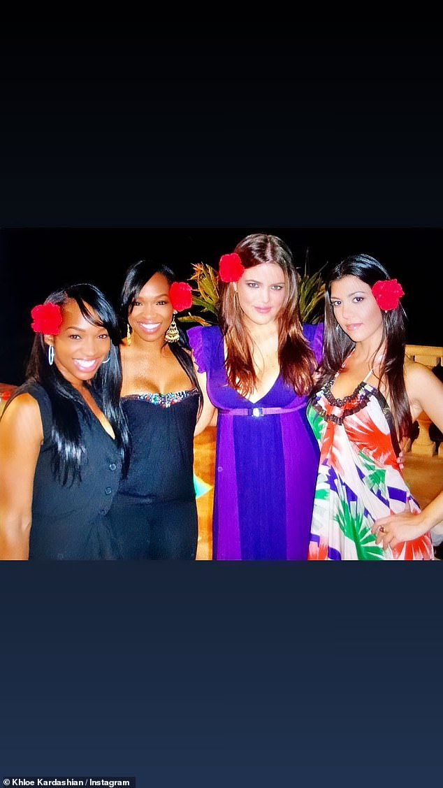 Way back: While Malika used to be Khloe's personal assistant, she also played a starring role in the ill-fated spin-off show Khloe and Lamar