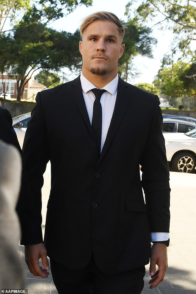 St George Illawarra and NSW State of Origin lock Jack de Belin is taking action in the Federal Court against the NRL after it announced he would be stood down from playing rugby league