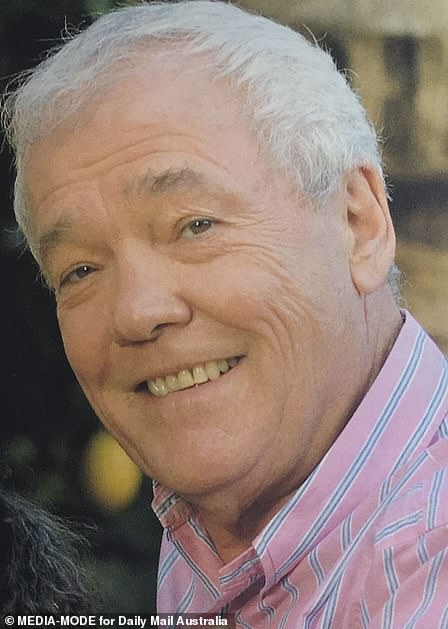 Rest in peace: John Kennerley, in a picture from his order of service
