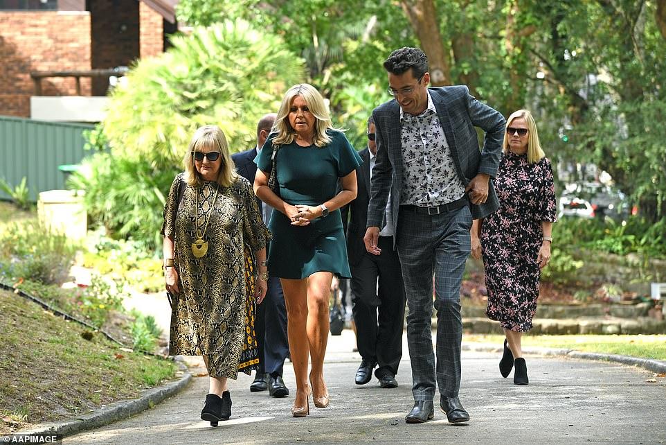 Kerri-Anne's Studio 10 co-hosts Denise Scott, Angela Bishop and Joe Hildebrand left the morning program early to support KAK