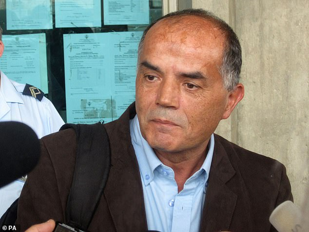 Goncalo Amaral (pictured above) has previously stated that Kate and Gerry McCann had faked Madeline's kidnapping
