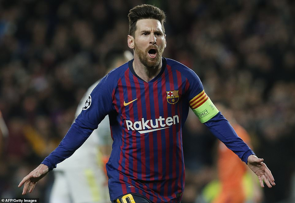 Lionel Messi was the star man on Wednesday night as he scored twice and set up two other goals in a 5-1 win over Lyon