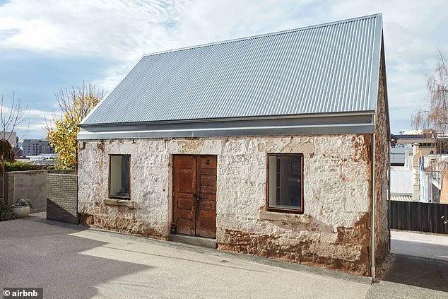 History and heritage are at the heart of the third most loved property (pictured) just a few minutes from Hobart's CBD