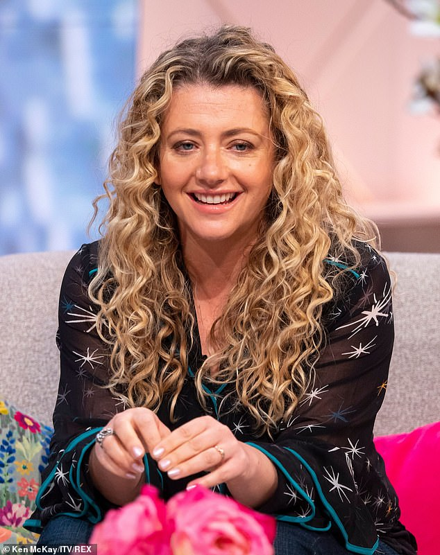 Defending: It comes as actress Louisa - who plays Maya - hit back at critics of the plot during an appearance on Wednesday's Lorraine