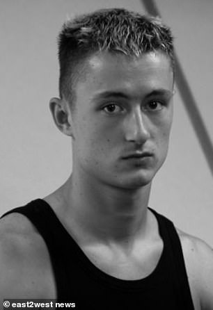Belorusov (pictured), a barman living in London, is the son of an Estonian police officer