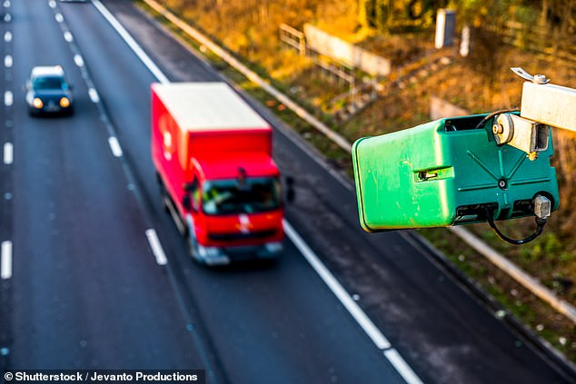 Highways England uses ANPR cameras on motorways. These cameras are painted green, making them easy to distinguish from traditional speed cameras