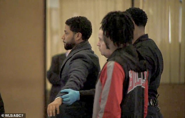 The actor was searched as he entered the courtroom on Thursday to enter a plea