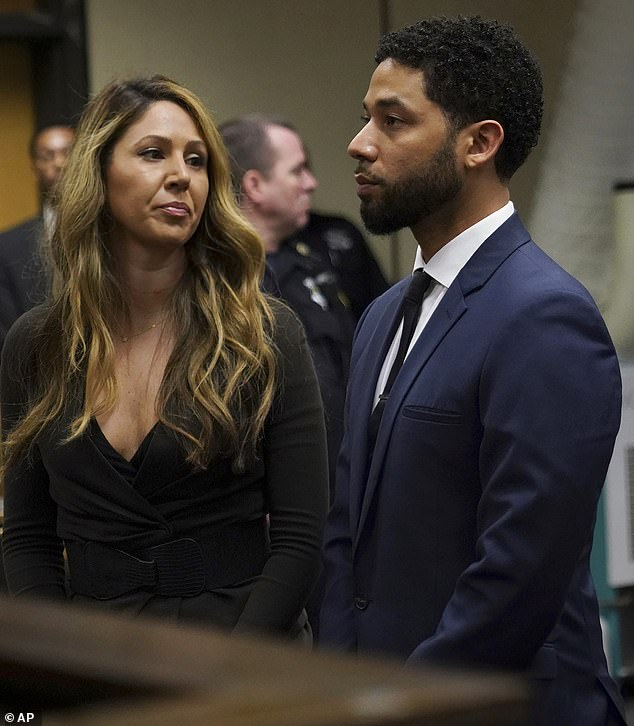 The actor was emotionless as he made his plea. His attorney Tina Glandian accompanied him