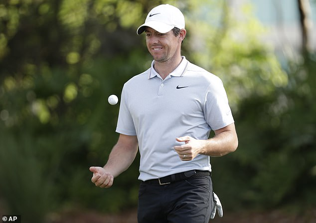 Rory McIlroy looks in top form too and is only two behind Fleetwood on the leaderboard